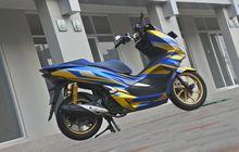 Dobrak Kesan Kalem! Honda PCX 150 Kena Sentuh Modifikasi, Ganti Baju Ala Superhero Wolverine