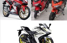 Menang Mana? Honda CBR250 RR SP VS Kawaski Ninja 250 dan Yamaha R25 Saat Adu Power, Yuk Intip