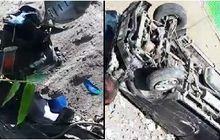 Ngilu, Video Kecelakaan Maut Honda BeAT VS Toyota Kijang, Sama-sama Kencang Motor Terkelupas 1 Nyawa Melayang