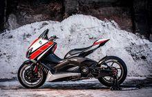 Modifikasi Yamaha TMAX Tersangar di Dunia, Pakai Part Yamaha R1 dan Pelek 17
