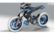 Gak Cuman Elektrik, Motor Masa Depan Yamaha Pakai Mesin Bertenaga Air, Begini Tampilannya