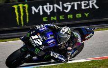 Hasil Kualifikasi MotoGP Austria 2020, Maverick Vinales Pole Position, Valentino Rossi Makin Jauh