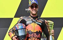Gawat, Valentino Rossi Sebut Brad Binder 'Binatang' di MotoGP Ceko 2020, Maksudnya?