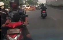 Bodohnya Jangan Ditiru, Video Pemotor Lawan Arah Nyaris Ambyar Tersambar Ambulance, Langsung Diteriakin Binatang