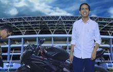 Sempat Trending Peranin Jokowi Naik Motor, Youtuber Skinnyindonesian24 Posting 3 Video Sindiran Buat Konten Kreator Zaman Now