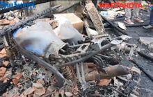 PemilikMotor Hanya Bisa Pasrah, 25 Motor Hangus Terbakar Dalam Kebakaran Duri Selatan Tambora