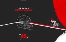 Sikat Boorr, Helm Keren dari Trooper Custom Helmet Kena Diskon Sampai 45%