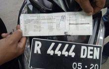 Ancaman Denda atau Penjara, Jangan Nekat Palsukan STNK atau Pelat Nomor Kendaraan