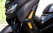 Ganteng Maksimal Yamaha All New NMAX Pasang Lampu Sein Model Running, Harga Pas di Dompet