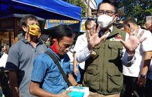 Viral Odading Mang Oleh, Gubernur Jawa Barat Ridwan Kamil Naik Motor Rela Ikutan Antre