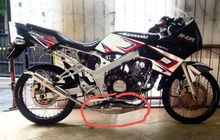Pernah Lihat Knalpot Motor 2-Tak Kembung Bagian Perutnya? Ternyata Fungsinya Penting Nih