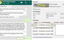 Bantuan Pemerintah Token Listrik Gratis Kirim Permintaan Lewat Whatsapp Untuk Mendapatkan Kodenya, Asyik Jatah Bayar PLN Bisa Buat Servis Motor