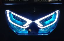 Demam Modifikasi DRL di Headlamp All New NMAX, Tampang Makin Garang Mirip Burung Hantu