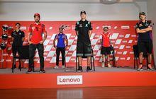 Gak Ada Valentino Rossi di Konferesi Pers Jelang MotoGP Catalunya, Gara-garanya Ini