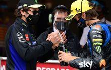 Terang-terangan Valentino Rossi Berharap Adiknya Luca Marini Bertahan di Moto2