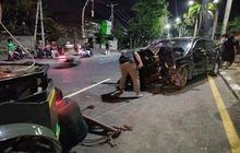 Bukannya Nolong, Oknum Driver Ojol Malah Jarah Pistol Dan HP Milik Polisi Yang Alami Kecelakaan