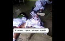 Lampung Geger! 4 Pelajar Tergeletak Bercucuran Darah Setelah 3 Motor Menghantam Truk Tangki, 2 Orang Tewas Seketika