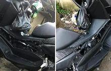 Sakit Tapi Gak Berdarah, Yamaha NMAX Ditinggal Mancing dari Sore Sampai Pagi, Pas Balik Body Dipreteli