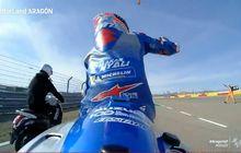 Motor Juara MotoGP Aragon 2020 Alex Rins Mogok Habis Bensin, Rupanya Tangkinya Mirip Motor Matic
