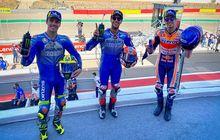 Hasil Balap MotoGP Aragon 2020: Duo Alex Berkuasa, Rins Finis Pertama Marquez Kedua, Joan Mir Harus Puas di Urutan ke-3