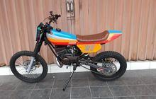 Keren! Yamaha RX-S Jadi Tracker, Kaki Jangkung Pakai Suspensi TS125