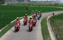 Lestarinya Alam Bandung Selatan Sekaligus Pembuktian Ketangguhan Skutik 125cc Yamaha