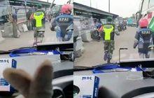 Bandung Geger, Viral Video Anggota TNI dan Relawan Ojol Urai Kemacetan Berikan Jalan Buat Ambulans