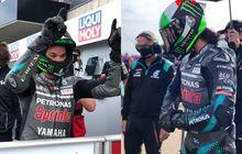 Raih Podium Pertama di MotoGP Teruel 2020, Murid Valentino Rossi Malah Asyik Pamer Goyangan Ini