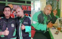 Awas Keliru! Driver Ojol Ini Mirip Banget Musisi Ahmad Dhani, Penumpang Sering Salah Sangka