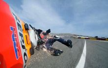 Terjatuh di MotoGP Teruel 2020, Marc Marquez Kasih Wejangan ke Adiknya