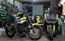 Modifikasi Motor Yamaha Livery 60th Anniversary, RX-King Sampai XMAX Jadi Sangar
