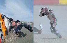 Ditanya Soal Alex Marquez dan Takaaki Nakagami Crash di MotoGP Teruel 2020, Pengamat MotoGP Malah Bilang Gini