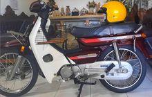 Menolak Murah! Dijual Astrea Grand 1992 Warna Merah Barang Langka, Harganya Setara Honda BeAT Baru