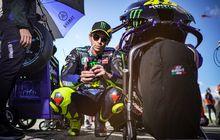 Jadi Balapan Terakhir Bersama Tim Yamaha Pabrikan, Valentino Rossi Dapat Tanda Perpisahan