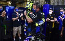 Bikin Haru, Video Perpisahan Antara Valentino Rossi Dengan Tim Pabrikan Yamaha Untuk Kedua Kalinya di MotoGP Portugal 2020