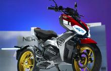 Bermesin Listrik! Motor Matic Berdarah Adventure Meluncur, Desain Bodi Macho Bakal Jadi Pesaing Honda ADV150?