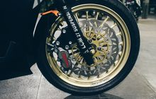 Modifikasi Honda Vario 125 Sektor Rem Hedon Banget, Biaya Setara Honda BeAT Seken