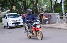 Test Ride Suzuki Nex Crossover, Jalan Aspal Dan Berlumpur Begini Rasanya!