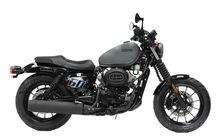 Motor Hampir-Davidson Asal Korea Selatan, Body Kekar Harganya Mirip-mirip Motor Matic Yamaha