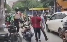 Viral Debt Collector Vs Ojol di Mangga Besar,  Polisi Turun Tangan