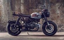 Kecil Tapi Gahar, Modifikasi Motor Honda Monkey Bergaya Cafe Racer