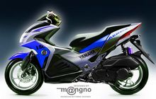 Yamaha Aerox 2021 Bisa Lebih Sporty, Desainer Motor Jelaskan Alasannya