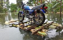 Salut Yamaha RX-King Selamat dari Banjir Besar di Kalimantan Selatan