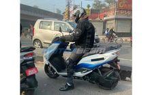 Kepergok, Motor Listrik Suzuki Burgman Electric Tes Jalan, Jegal Honda PCX Electric?