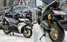 Modifikasi Motor Yamaha Aerox 155 2020, Modif Simple Seharga Motornya