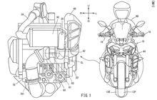 Bocor Gambar Paten Mesin Motor 3 Silinder Pakai Turbo Dari Yamaha!