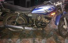 Buruan Sikat Yamaha RX-King Dilelang Rp 2 Jutaan, STNK BPKB Komplit