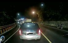 Sumedang Gempar, Pemotor Kejar Begal Saat Jalan Macet, Begini Faktanya