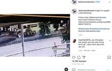 Video Detik-detik Motor Ditabrak Angkot Lawan Arah, Korban Terseret