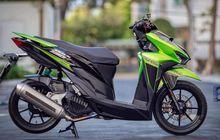 Modifikasi Motor Honda Vario 150, Mewah Bertabur Aksesoris Berkelas